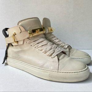 Buscemi 100mm Lock & Key Hi Top Sneakers